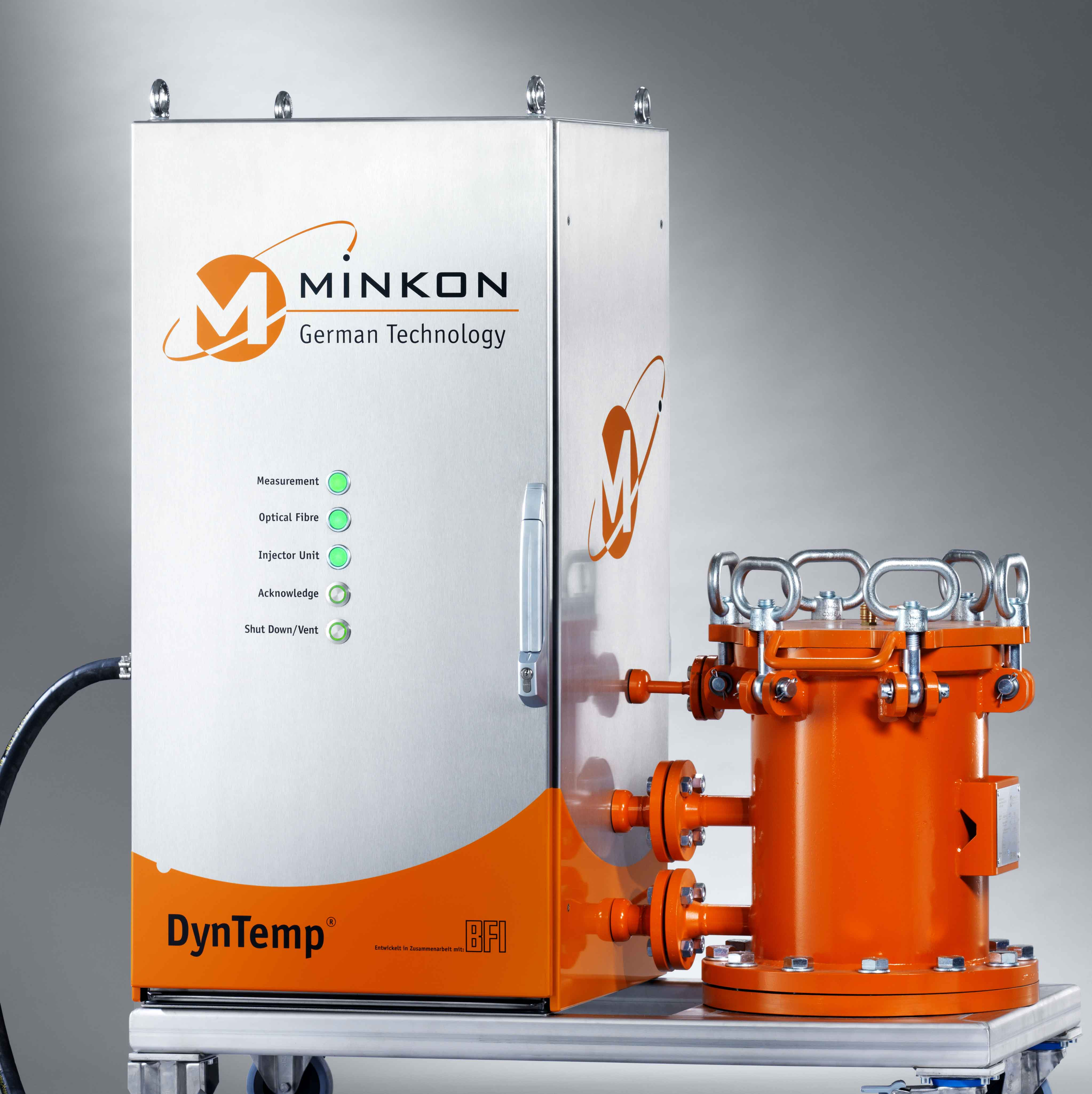 DynTemp Fibre Optic Temperature Measurement System